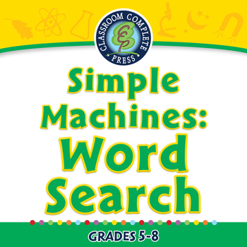 Simple Machines: Word Search - PC Gr. 5-8