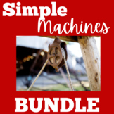 Simple Machines Worksheets Bundle