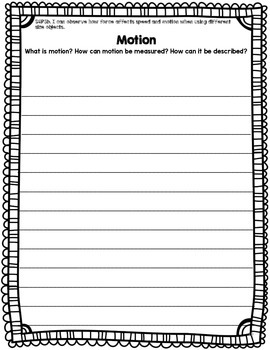Simple Machines Writing Prompts