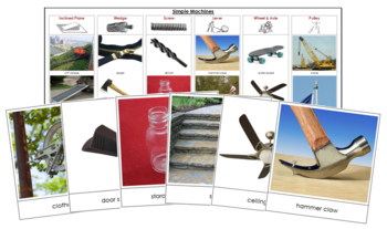 Simple Machines and Levers: Cards & Charts