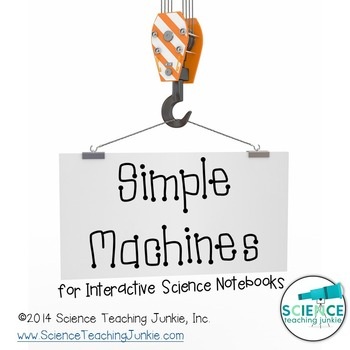 Simple Machines for Interactive Science Notebooks