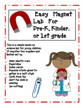 Simple Magnet Science Lab for Young Children