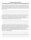 Simple Main Idea & Details Worksheet