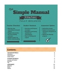 Simple Manual Writing Project