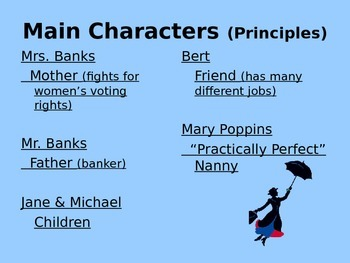 Simple Mary Poppins PowerPoint
