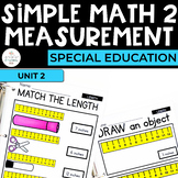 Simple Math 2: Measuring Inches for students with special needs