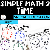 Simple Math 2: Time Unit for Students with Special Needs
