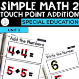 Simple Math 2:Touch Number Addition for Special Education