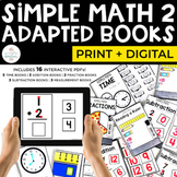 Simple Math 2 Adapted Books