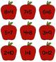 Simple Addition Card Set (Apple Themed)