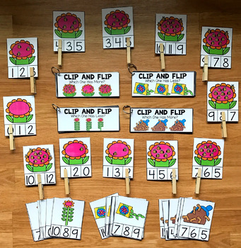 Simple Math Centers for Spring