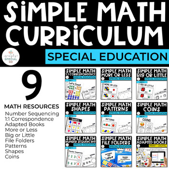 Simple Math FULL Curriculum Bundle
