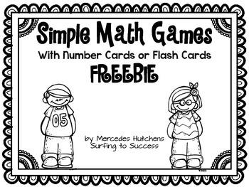 Simple Math Game FREEBIE