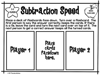 Simple Math Games: Addition and Subtraction Games
