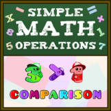 Simple Math Operations (Comparison) Worksheets