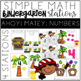 Simple Math Stations: Ahoy Matey! NUMBERS to 10 & 20