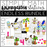 Simple Math Stations: ENDLESS BUNDLE