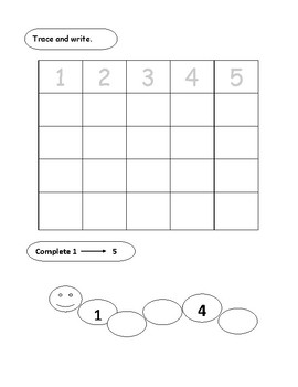 Simple Math sheets