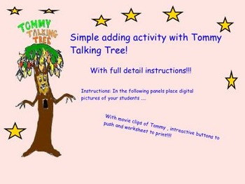 Simple Math with Tommy Talking Tree !