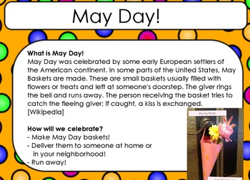 **FREEBIE**  Simple May Day Flipchart