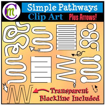 Simple Mazes Clip Art
