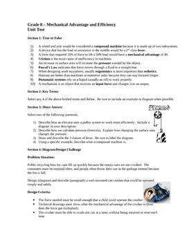 Simple Mechanics - Unit Test