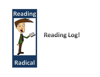 Simple Middle School Reading Log