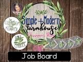 Simple + Modern Farmhouse Job Board