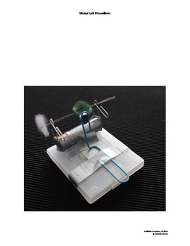 Simple Motor, AWESOME Electricity & Magnetism Lab Activity for 4rd - 6th Grades