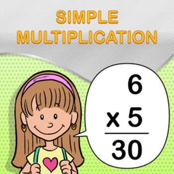Simple Multiplication Worksheet Maker - Create Infinite Math Worksheets!