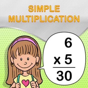 Simple Multiplication Worksheet Maker - Create Infinite Ma