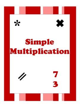 Simple Multiplication Worksheets