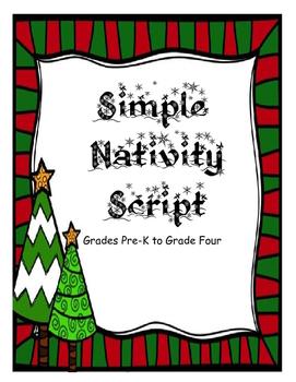Simple Nativity Script