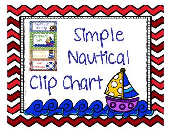 Simple Nautical Clip Chart
