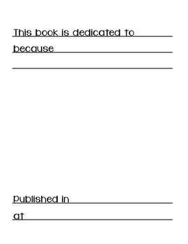 Nonfiction Writing Paper for Primary Grades
