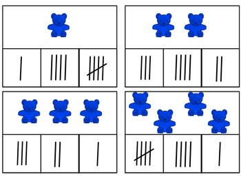 Simple Number Sense Clip Cards