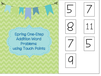 Simple One-Step Word Problem Interactive Reader