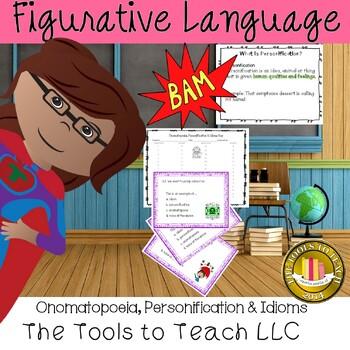 Onomatopoeia, Personification and Idioms English Language Arts Center Station