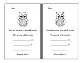Owl Small Group Invitation