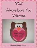 Simple Owl Valentine Craft