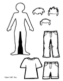 Simple Paper Dolls Boy and Girl