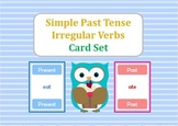 Simple Past Tense of Irregular Verbs Card Set (Snap/Slap, Memory, Match)