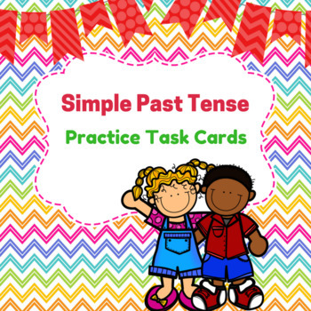 Simple Past Tense Practice Cards