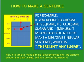 Battle game for Simple Past tense (simple Mode)