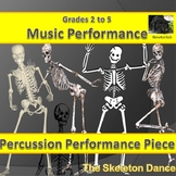 Simple Percussion Performance Piece-The Skeleton Dance - G