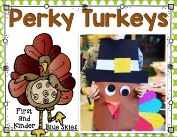 Simple Perky Turkey Glyph Art Kinder Craft- Simple & Easy