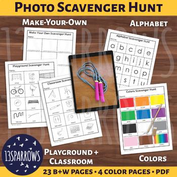 Simple Photo Scavenger Hunt Bundle