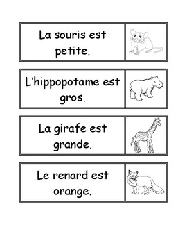 Simple Phrases Matching (in French)