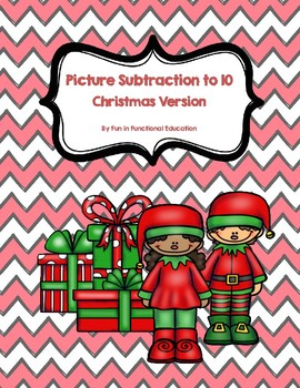 Simple Picture Subtraction- Christmas Edition