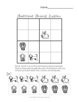 Simple Picture Sudoku